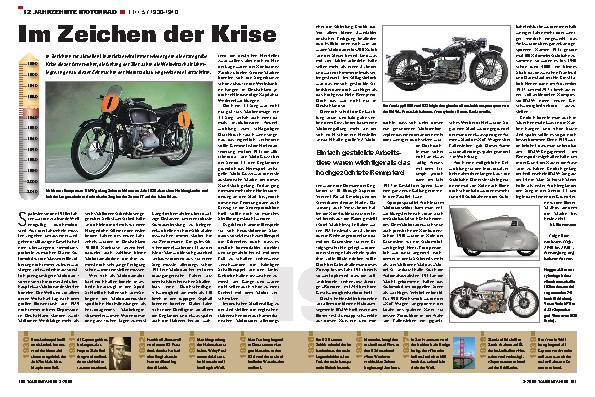 12 Jahrzehnte Motorrad - Teil 5/1930-1940