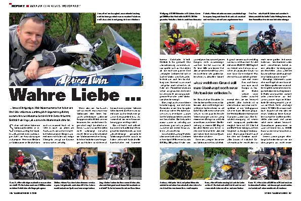 Report - Warum kein neues Motorrad?