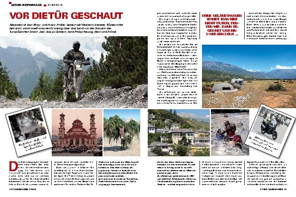 Leser Reportage Albanien