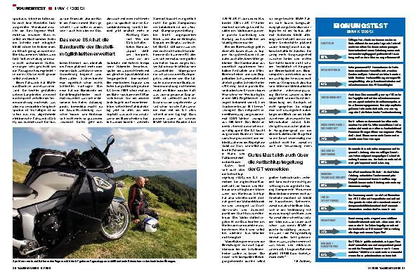 Tourentest - BMW K 1300 GT