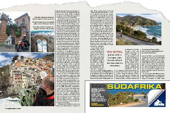 Tour Cinque Terre - Paradies hoch Fünf