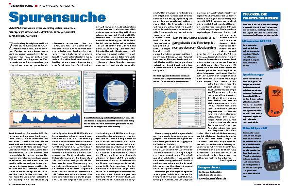 Ausrüstung - Tracking & Geotagging
