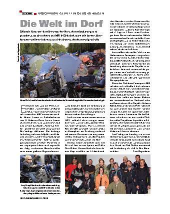Szene - Motorradreisetreffen Gieboldehausen