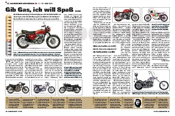 12 Jahrzehnte Motorrad - TEIL 8 / 1960-1970