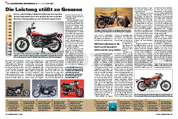 12 Jahrzehnte Motorrad - TEIL 9 / 1970-1980
