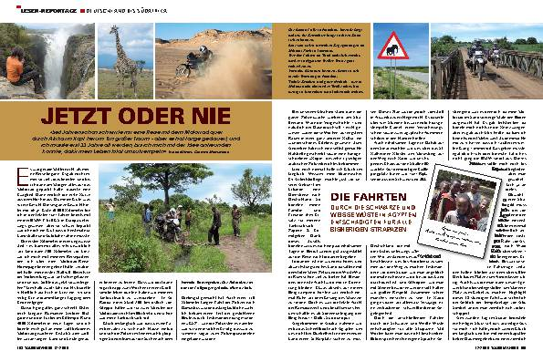 Leser-Reportage - Deutschland bis Südafrika