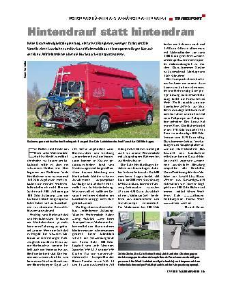 Transport - Motorradbühnen als Anhänger-Alternative