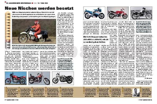 12 Jahrzehnte Motorrad - TEIL 10 / 1980-1990