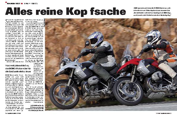Touren-Test - BMW R 1200 GS