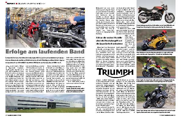 Report - 20 Jahre Triumph/Hinckley