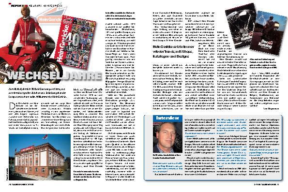 Report - 40 Jahre Hein Gericke