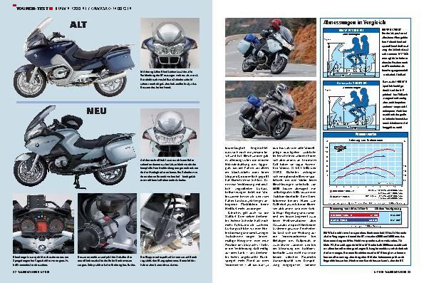 Touren-Test - BMW R 1200 RT/Kawasaki 1400 GTR