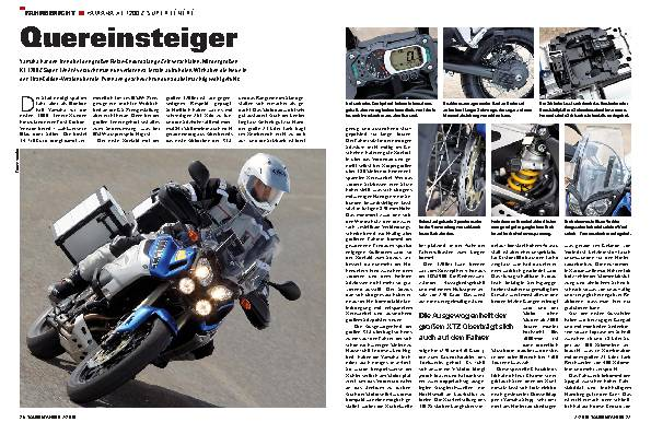 Fahrbericht - Yamaha XT 1200 Z Super