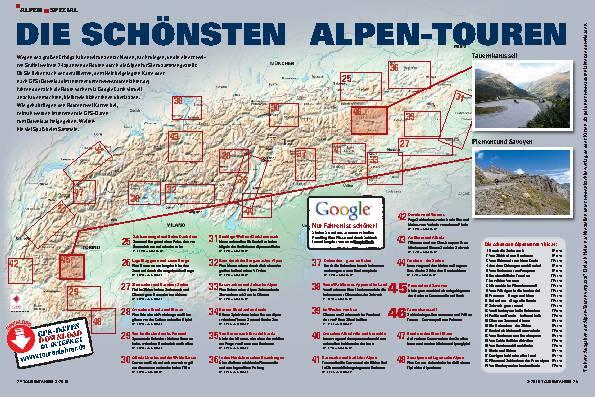 Alpen Spezial - Die schönsten Alpen-Touren