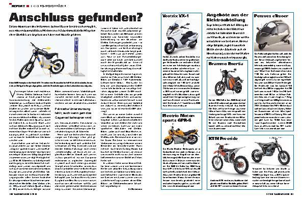 Report - Elektro-Motorräder