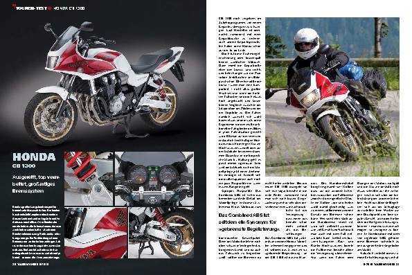 Touren-Test - Honda CB 1300