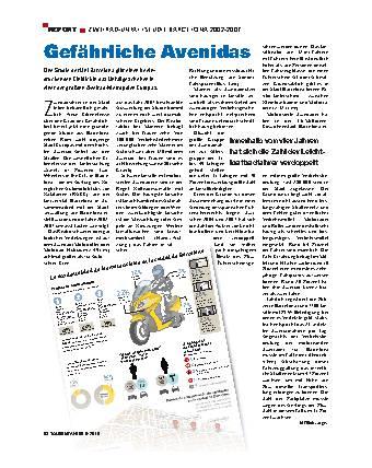 Report - Zweirad-Unfallstudie Barcelona 2002-2007