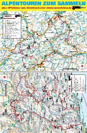 Alpentouren zum Sammeln
