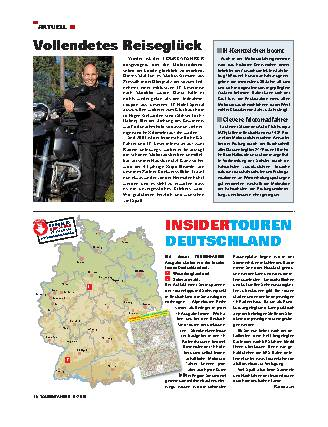 Aktuell - Insidertouren Deutschland