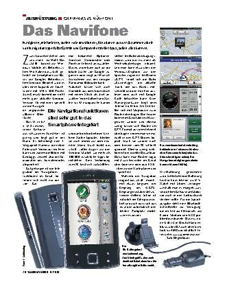 Ausrüstung - Garmin-Asus Nüvifone