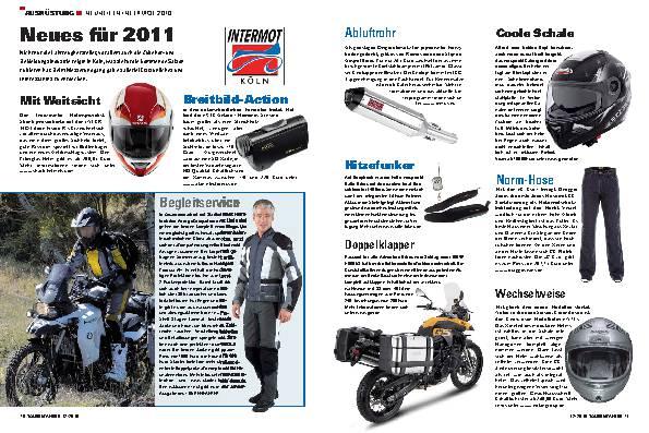 Ausrüstung - Neuheiten INTERMOT 2010
