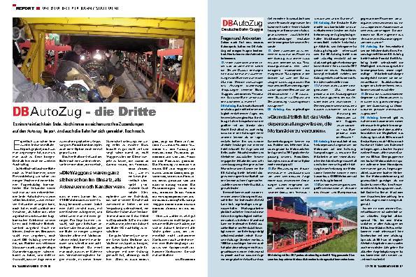 Report - Mit dem Bike per Bahn / Statement