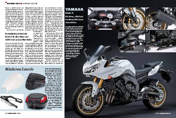 Touren-Test - Yamaha Fazer 8