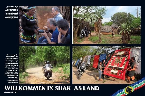 Südafrika - WILLKOMMEN IN SHAKAS LAND