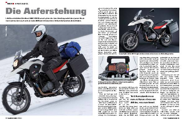Test - BMW G 650 GS
