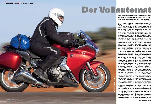 Touren-Test - Honda VFR 1200 FD