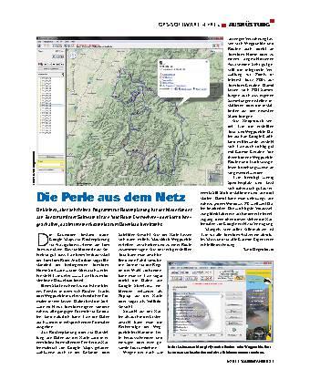 Ausrüstung - GPS-Software »Tyre«