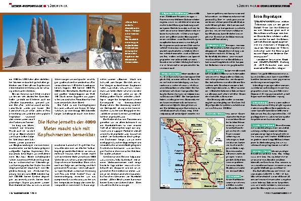 Leser-Reportage - Südamerika