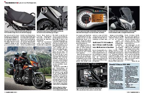 Fahrbericht - Suzuki V-Strom 650 ABS