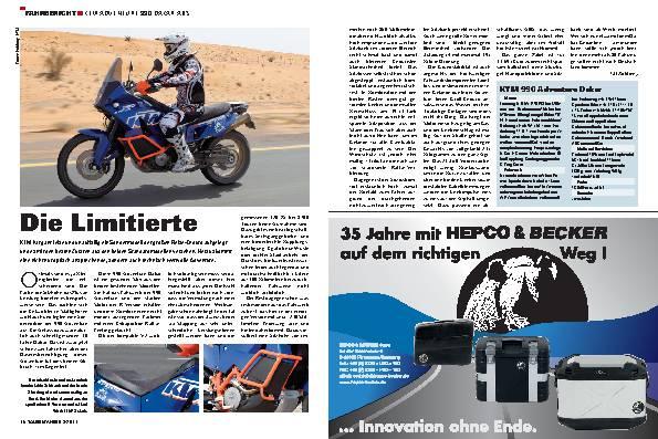 Fahrbericht - KTM Adventure 990 Dakar ABS
