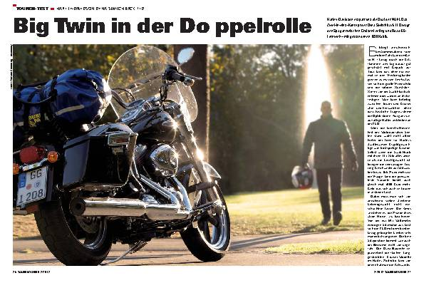 Touren-Test: Harley-Davidson Dyna Switchback FLD