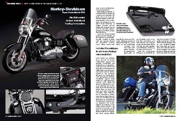 Touren-Test: Harley-Davidson Dyna Switchback FLD