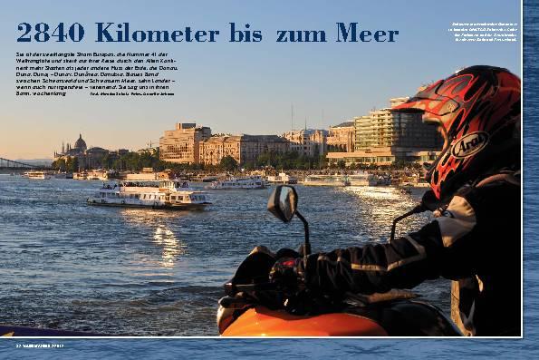 Entlang der Donau, Teil eins: Flussfahrt bis an die serbische Grenze – 2840 Kilometer bis zum Meer