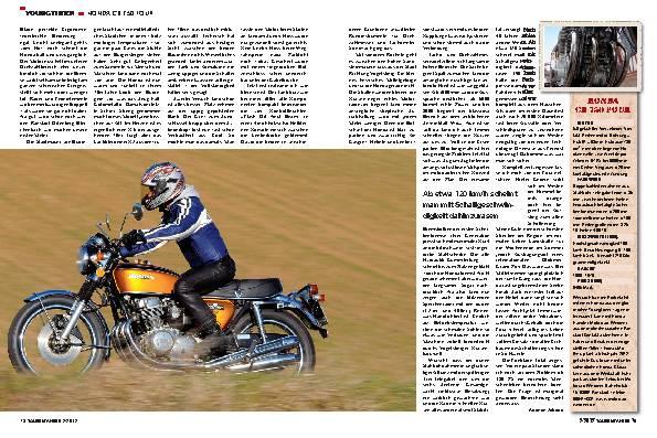 Youngtimer: Honda CB 750 Four
