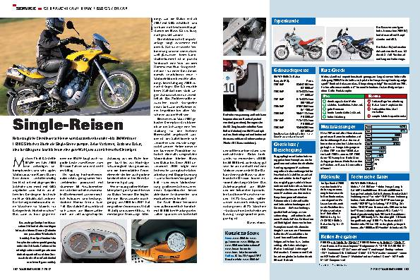 Gebrauchtkauf: BMW F 650 GS / Dakar
