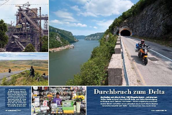 Entlang der Donau, Teil zwei: Auf Umwegen zum Schwarzen Meer – Durchbruch zum Delta