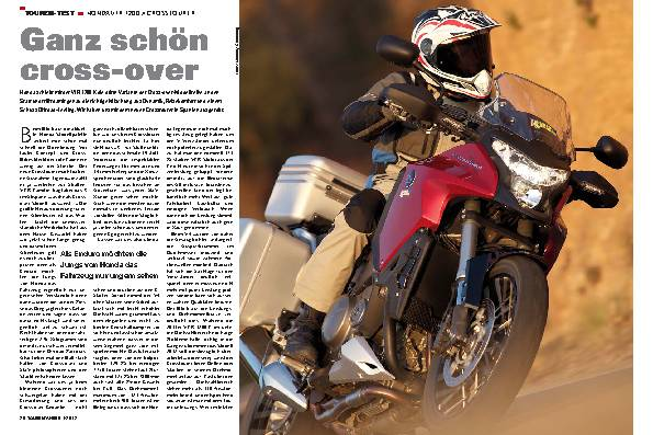 Touren-Test: Honda VFR 1200 X Crosstourer
