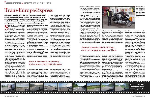 Nordkap-Gibraltar: Iron-Butt-Ride in 72 Stunden – Transeuropa-Express