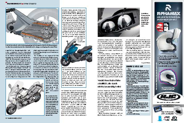 Fahrbericht: BMW C 650 GT