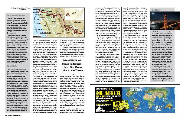 Las Vegas-San Francisco: Auf den Spuren der Goldsucher – Zwischen den Extremen