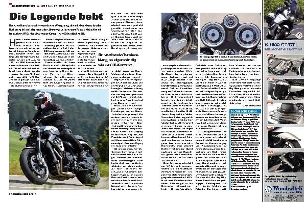 Fahrbericht: Horex VR6 Roadster