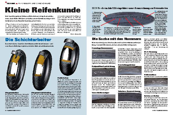 Reifenkunde: Bauart und Kennzeichnung