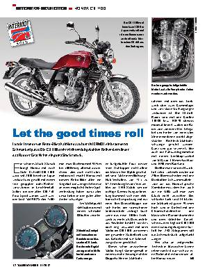 INTERMOT-Neuheiten - Honda CB 1100
