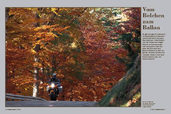 Deutschland/Frankreich: Herbsttour in Schwarzwald und Vogesen – Vom Belchen zum Ballon