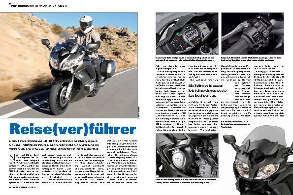 Fahrbericht: Yamaha FJR 1300