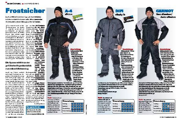 Ausrüstung: Thermokombis - warm durch den Winter